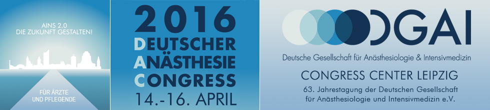 Deutscher An�sthesiecongress 2016